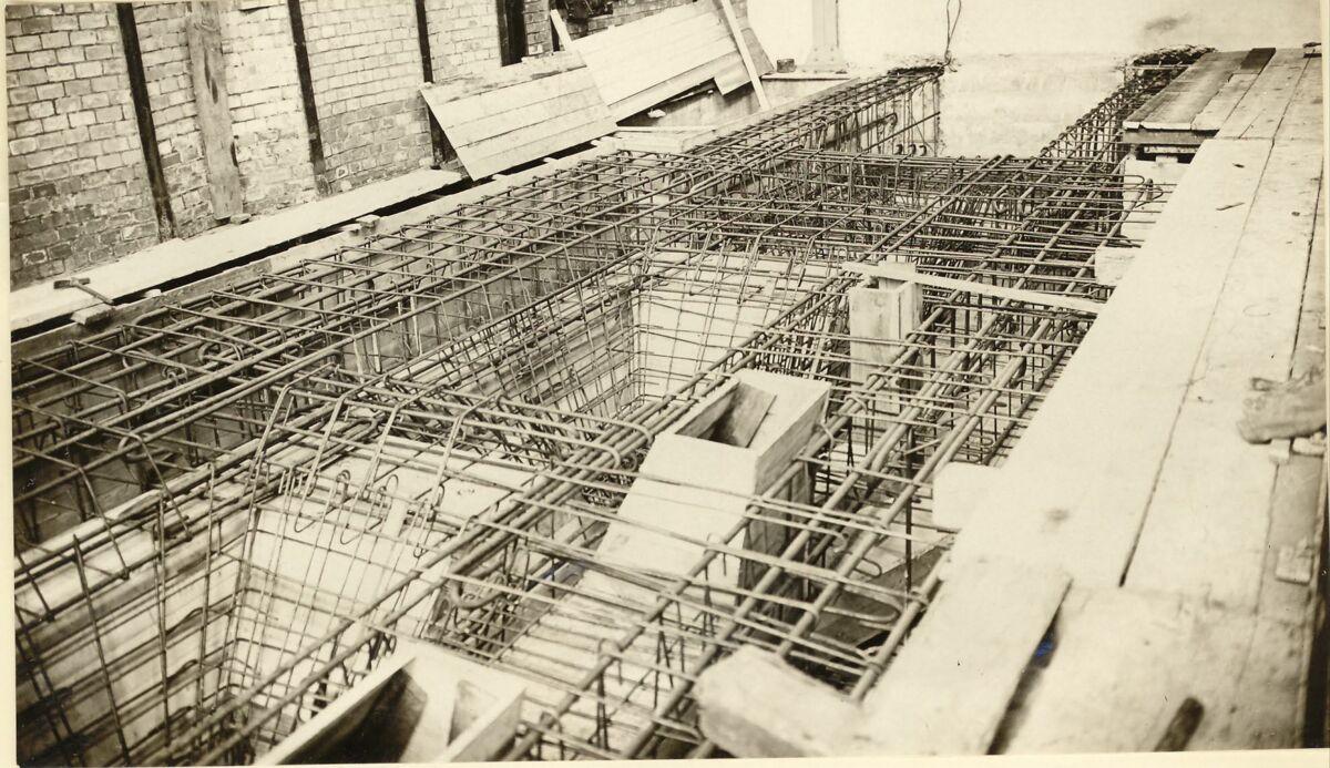 GFA 24/53.1215: Reinforcement new boiler house