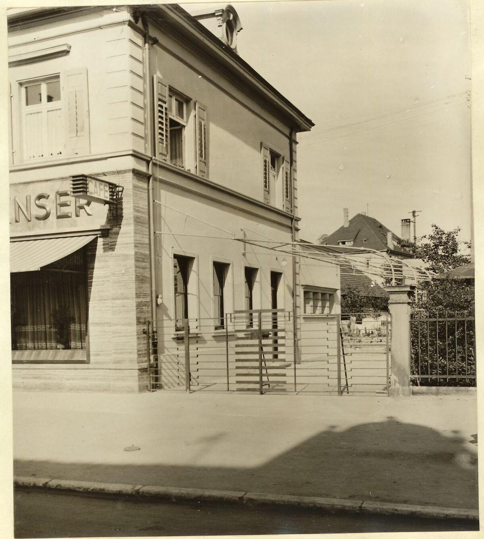 GFA 24/53.1299: Pergola of Café Hanser