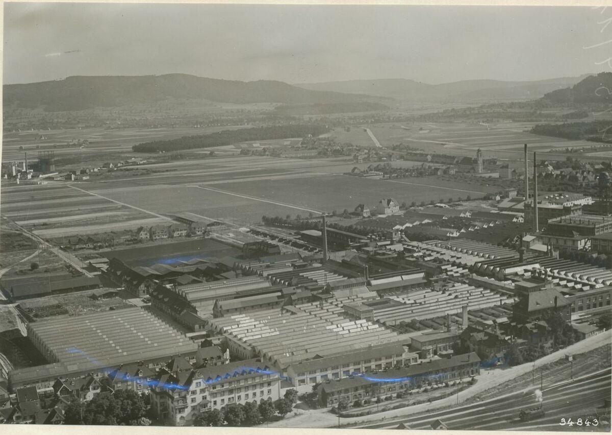 GFA 24/53.1311: Aerial shots plant Singen