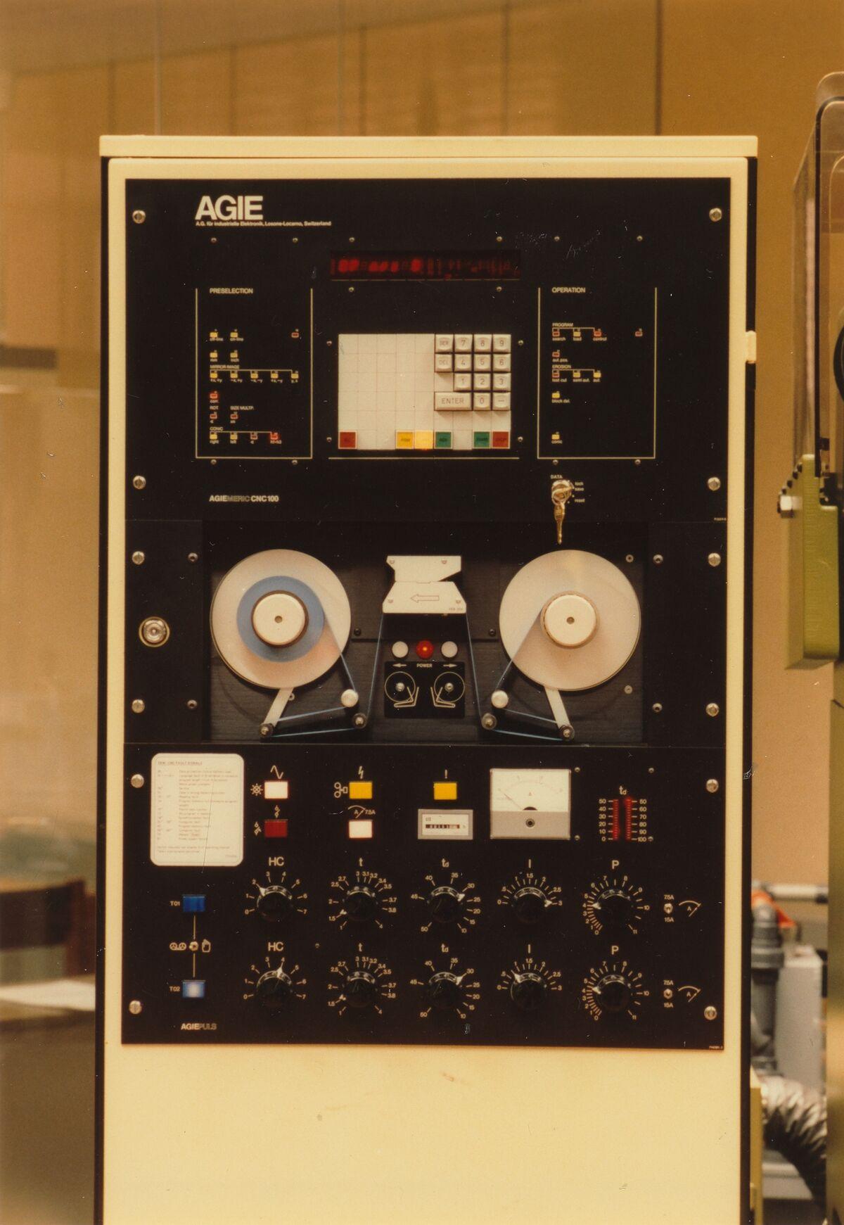 GFA 42/22183: Bedientafel CNC-100