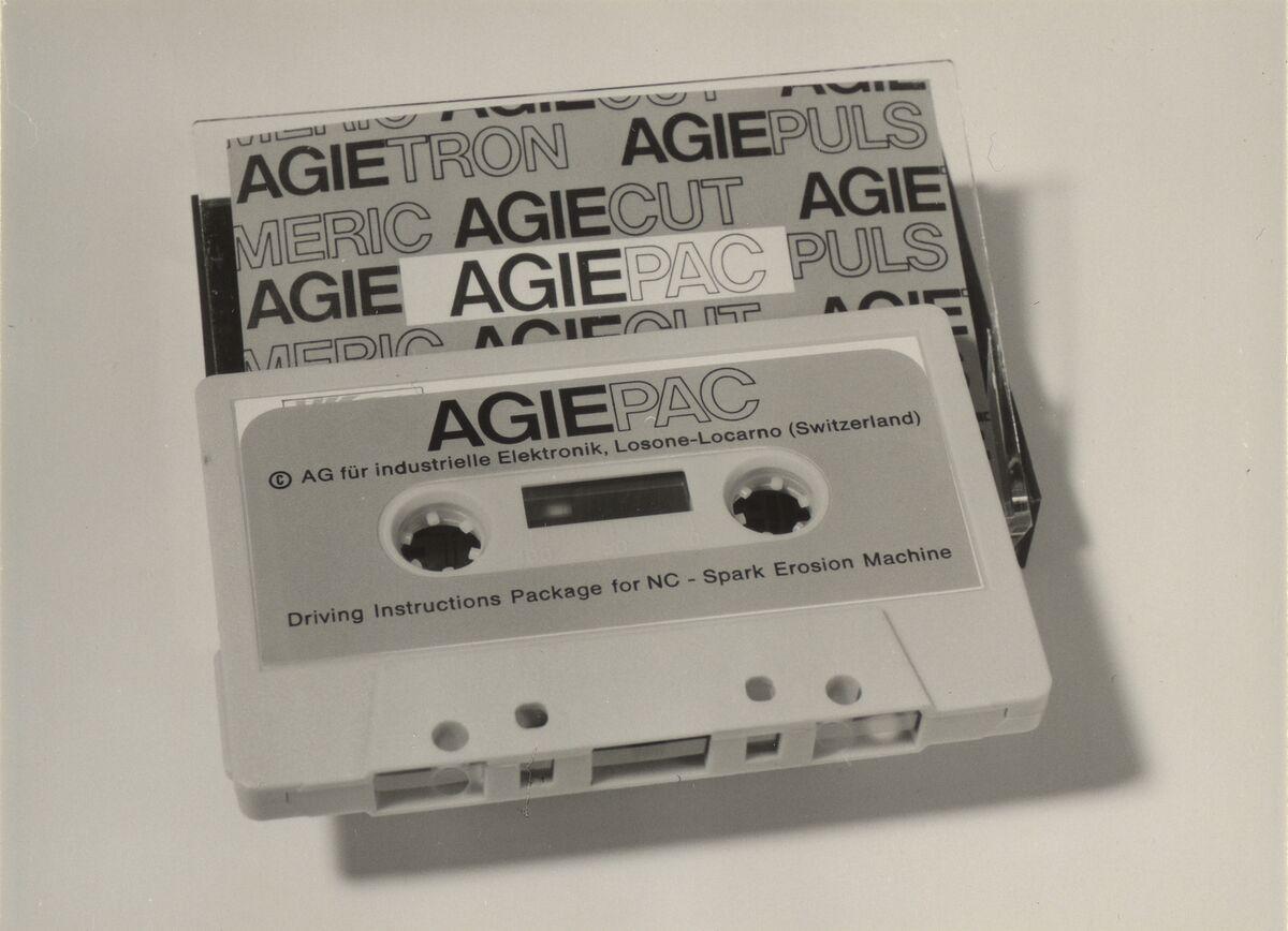 GFA 42/25075: Magnetbandkassette AGIEPAC