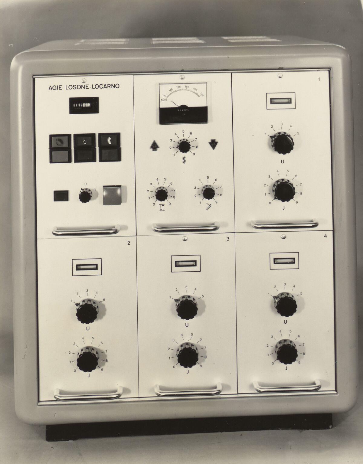 GFA 42/30027: AGIE-Erosionsgenerator Typ STM-4