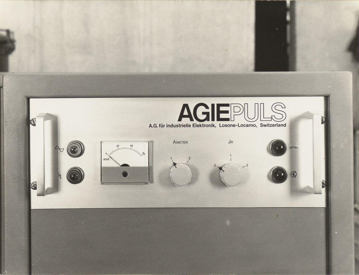 GFA 42/31011: AGIEPULS control panel
