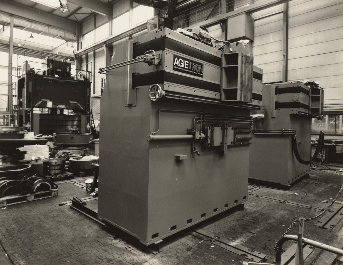 GFA 42/35507: AGIETRON-EMS 30 / P38 special machine for Georg Fischer, Schaffhausen