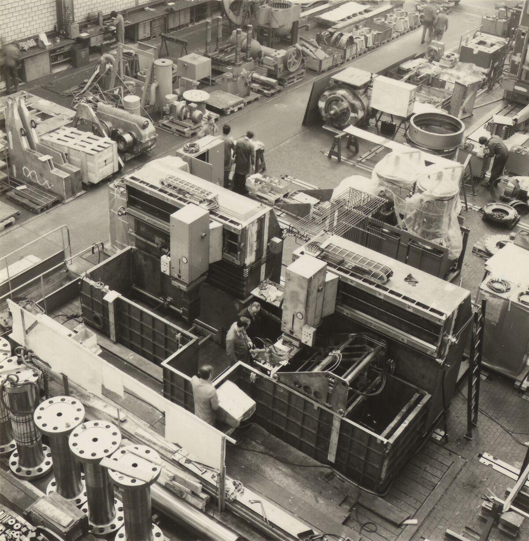 GFA 42/35510.1: AGIETRON-EMS 30 / P38 special machine for Georg Fischer, Schaffhausen
