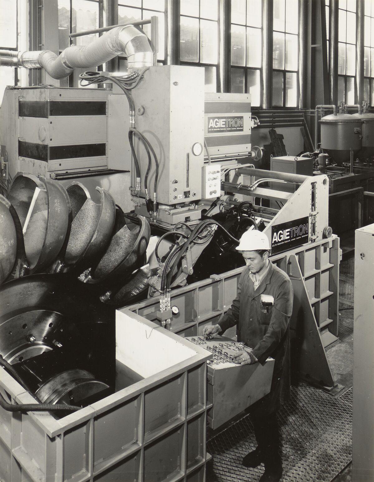 GFA 42/35510.2: AGIETRON-EMS 30 / P38 special machine at Georg Fischer, Schaffhausen