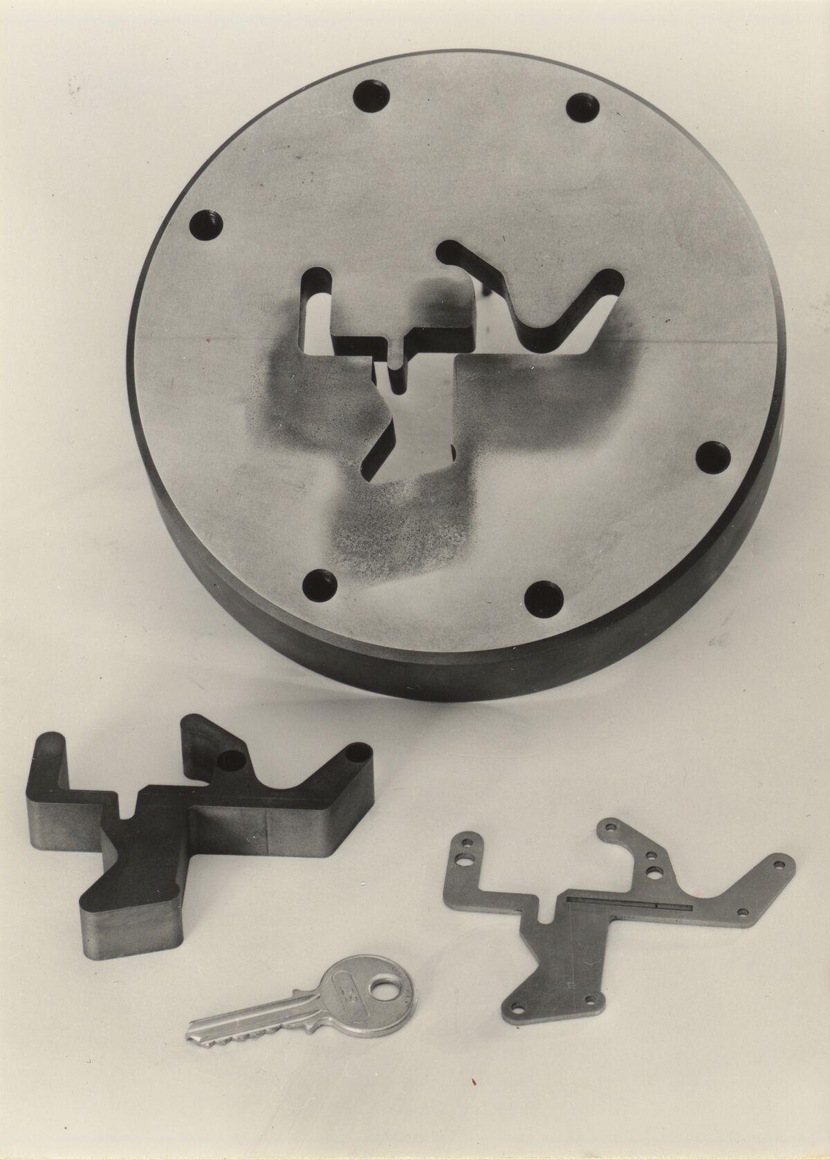 GFA 42/37026: Schnittmatrize für ein Feinstanzwerkzeug