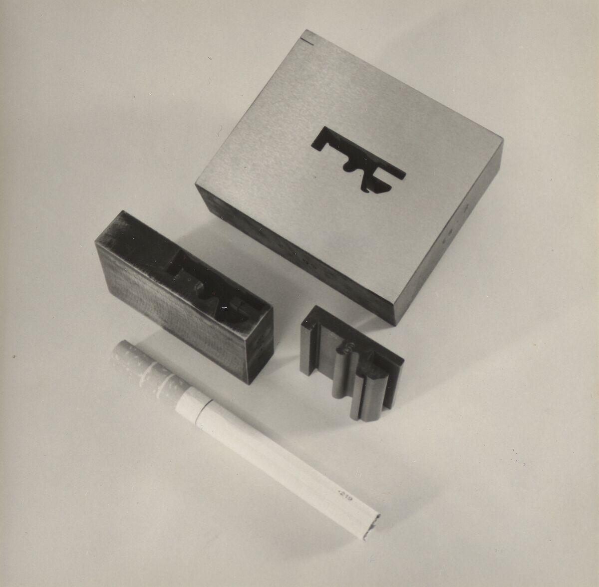 GFA 42/37050: Schnittplatte und Stempel