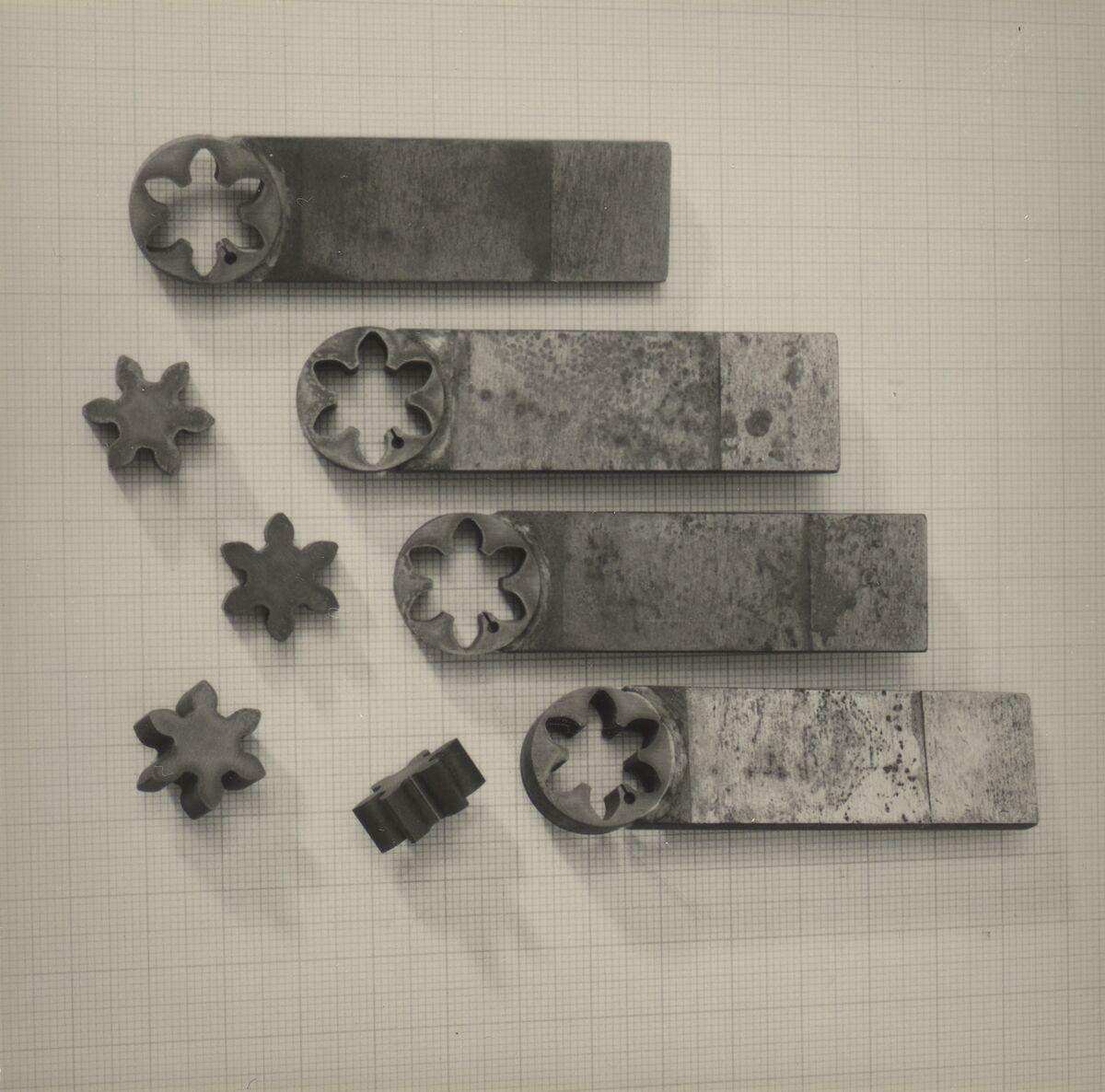 GFA 42/37051: Zahnprofil-Elektroden aus Wolfram-Kupfer