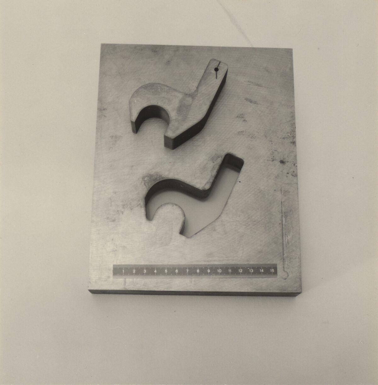 GFA 42/37052: Schnittplatte für Stahlbauformteil
