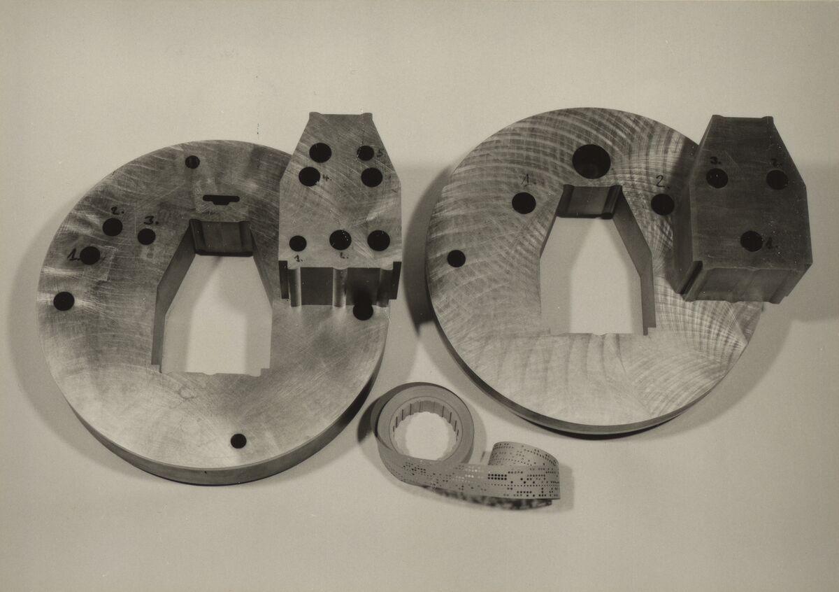 GFA 42/37209: Components for fine-cut tools