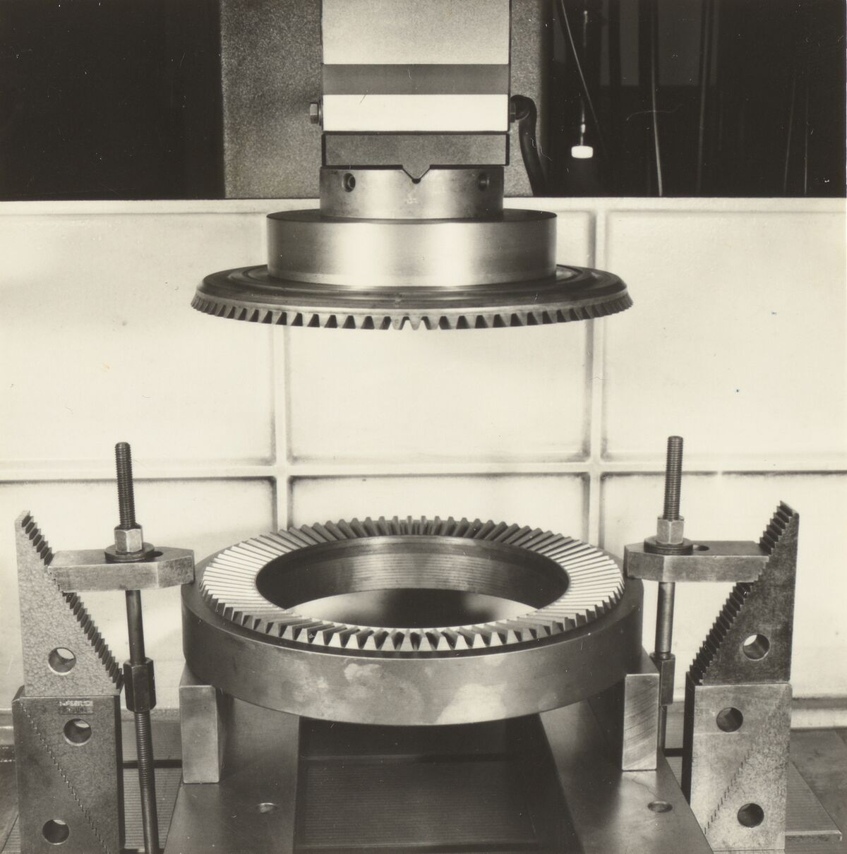 GFA 42/40336: Forging die for the rim of the plate