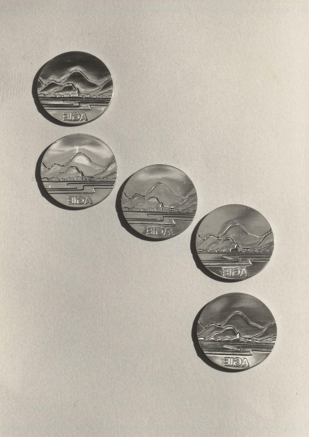 GFA 42/45015: Bildserie Elektroden-Medaillen