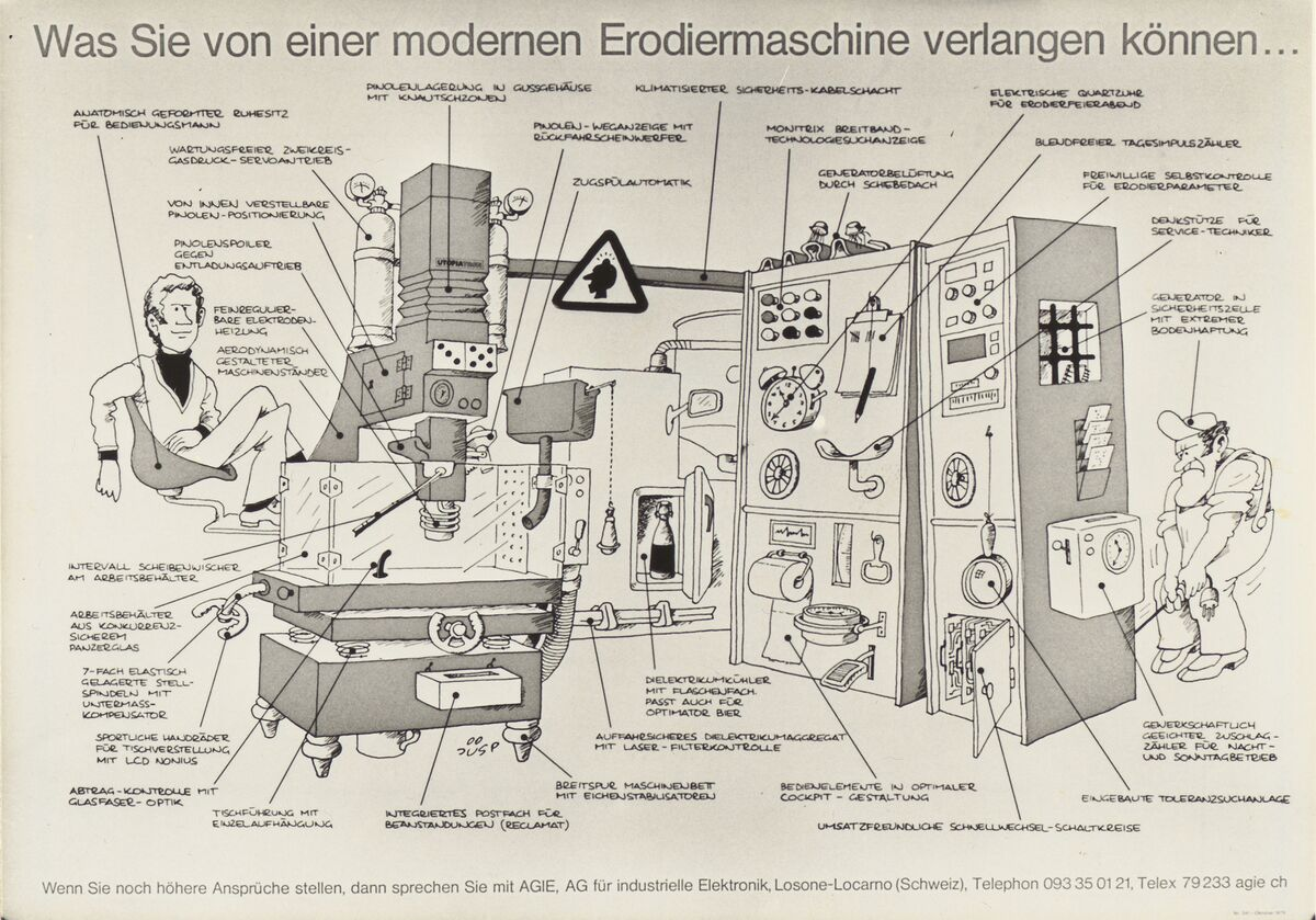 GFA 42/50121: Cartoon advertising poster