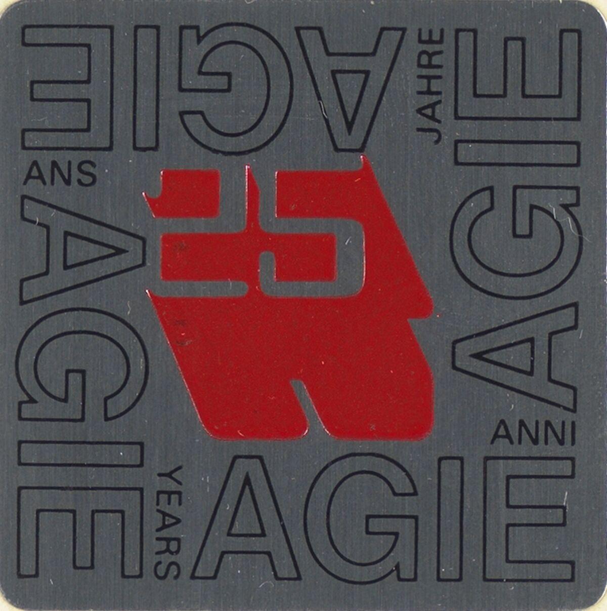 GFA 42/50127: Signet 25 years of AGIE