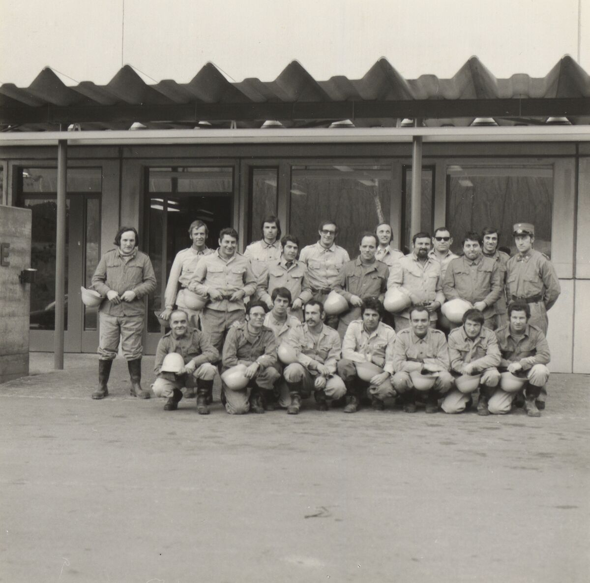 GFA 42/62140: Photo report of the plant fire brigade